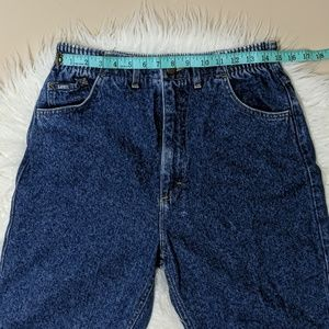 High Waisted Lee Vintage Jeans Size 14 (Mom Jeans)